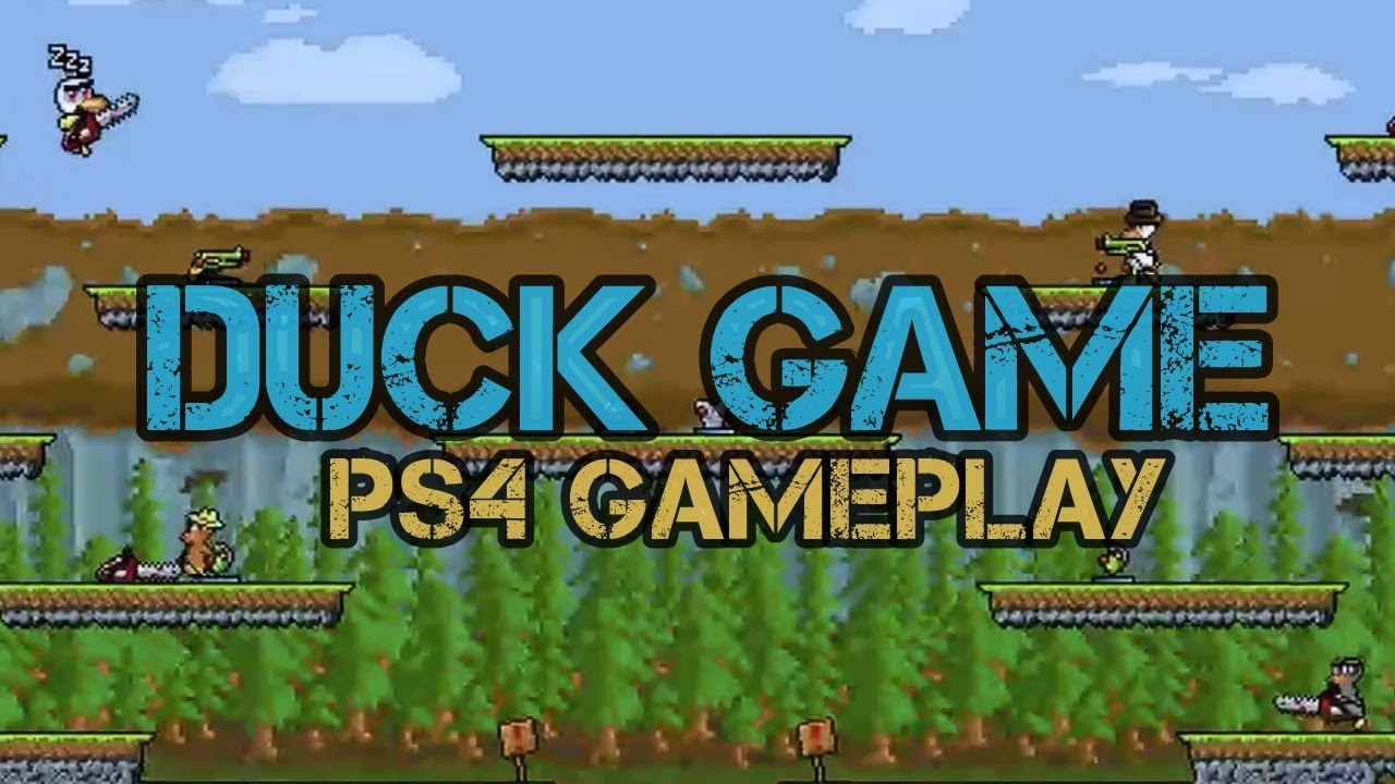 Duck Game PS4 Gameplay   YouTube Duck Game PS4 Gameplay