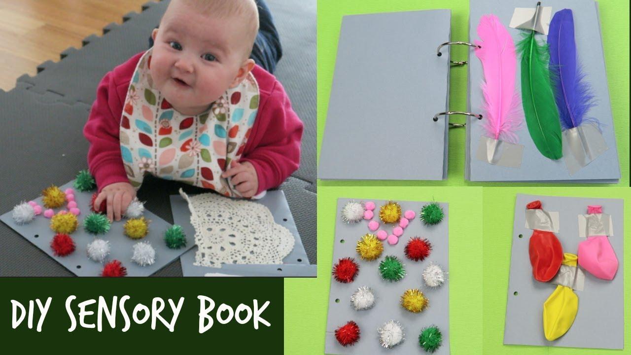 Diy Sensory Book How To Make A Sensory Book For Babies