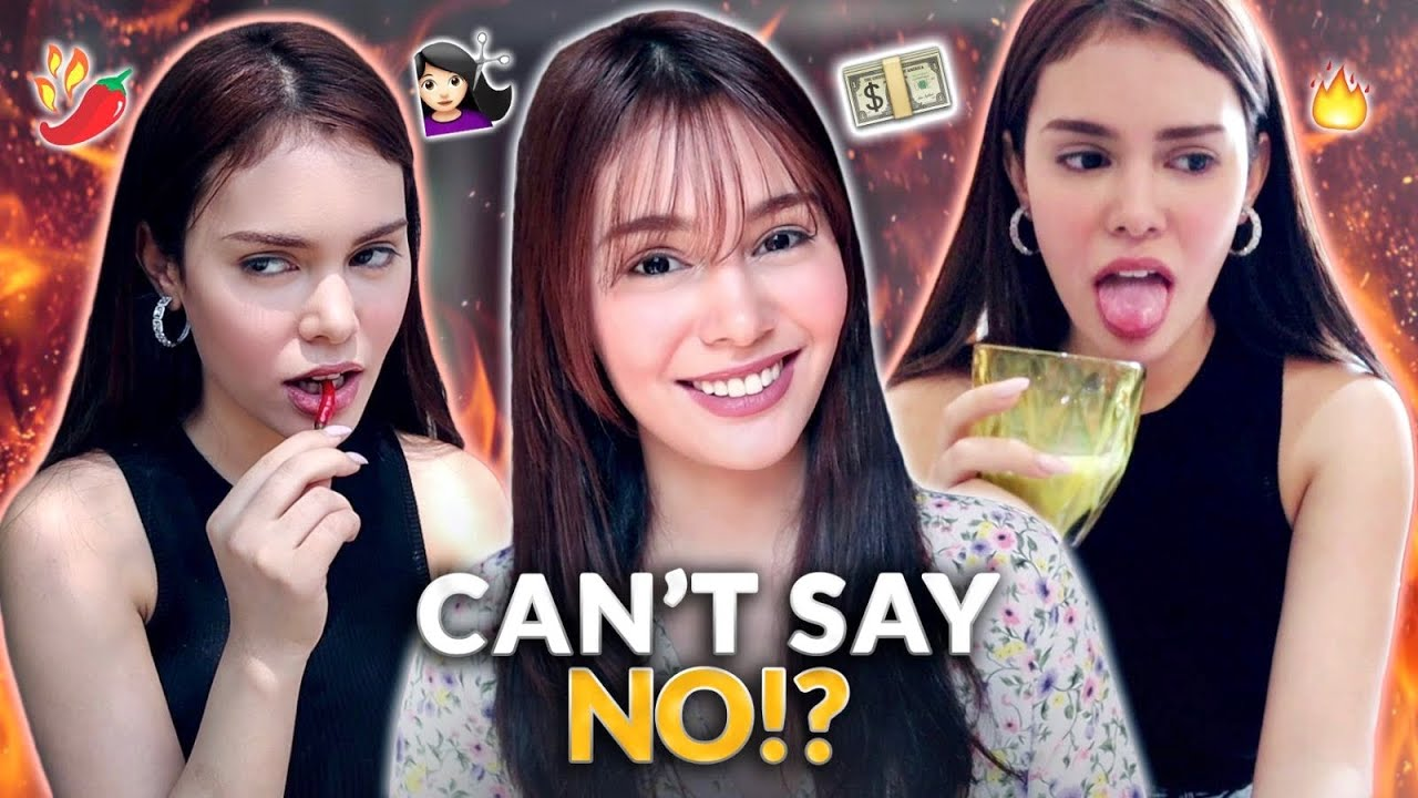 CAN'T SAY NO CHALLENGE! | IVANA ALAWI