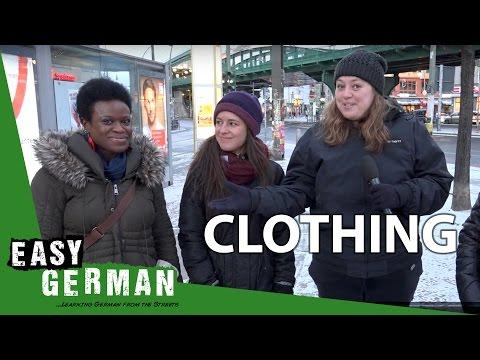 Tiếng Đức bài 18: Quần áo