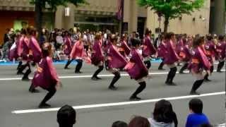 Yosakoiソーラン祭り 2012  実践女子大学・短期大学WING