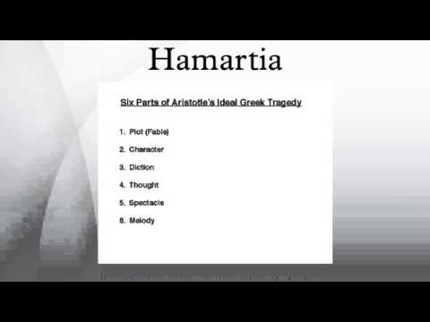 hamartia literary definition