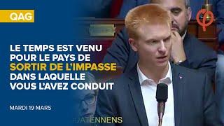 QAG - LE TEMPS EST VENU POUR LE PAYS DE SORTIR DE L'IMPASSE DANS LAQUELLE VOUS L'AVEZ CONDUIT