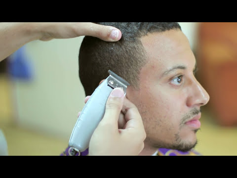 Crispy Steph Curry Line up w/ Hot Towel Shave!   Goatee Edge Up   Barber Tutorial   剪髮   Kv7