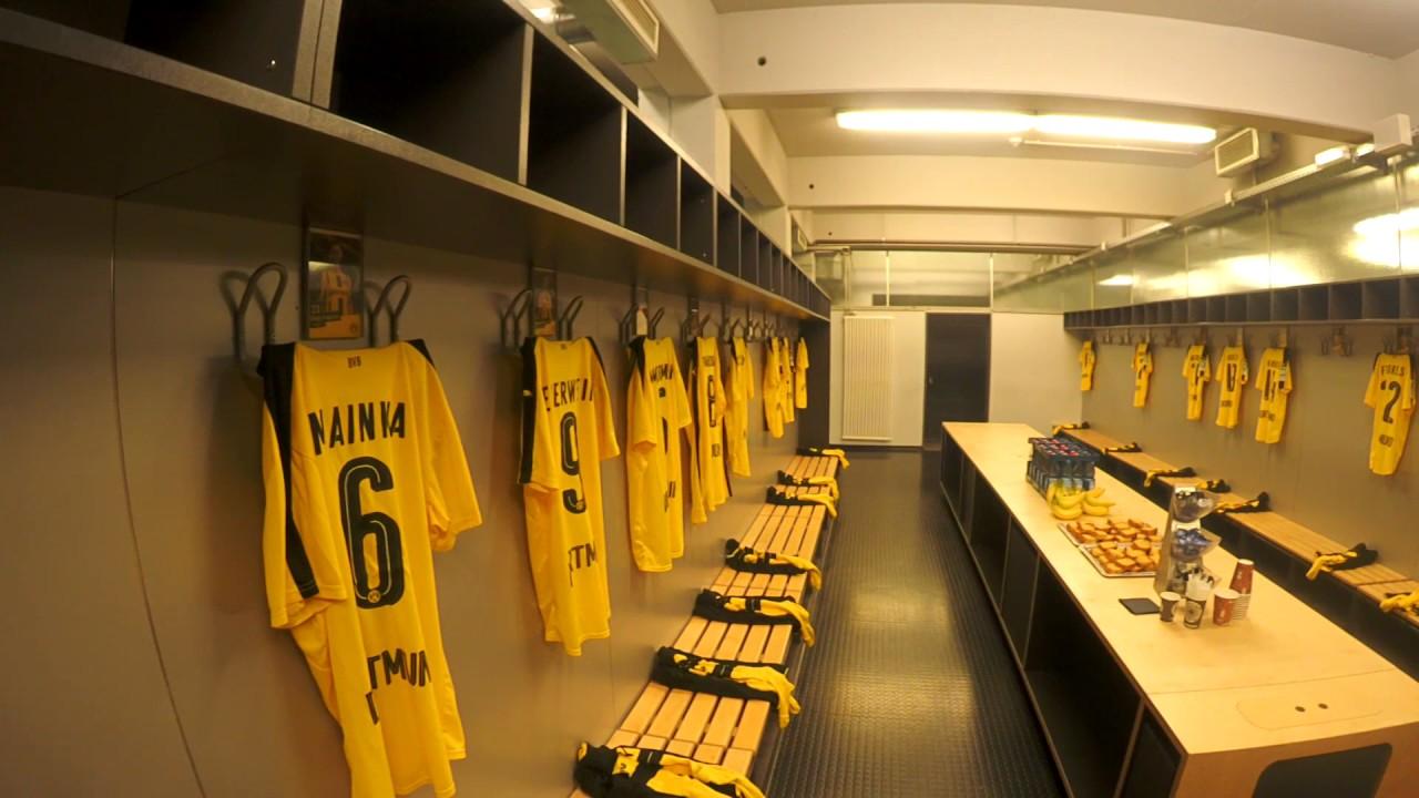 bvb stadiontour borussia dortmund stadion signal iduna park youtube. Black Bedroom Furniture Sets. Home Design Ideas
