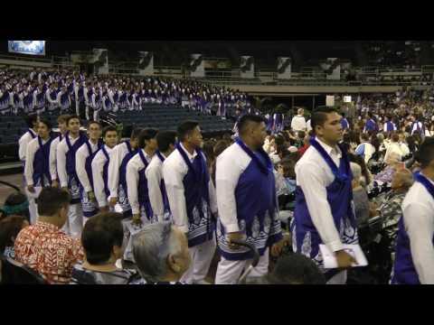 Kamehameha Kapalama Commencement 2017 Processional