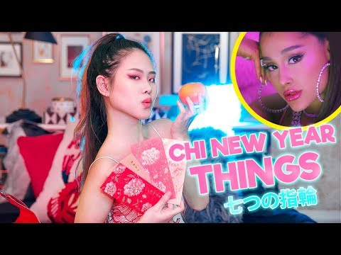 CHINESE NEW YEAR THINGS we all hate【7 RINGS PARODY】| MiniMoochi