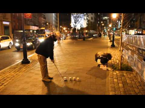Street Golf  SoHo- New York