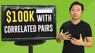 Forex Trading Strategies - Using Correlated pairs ($100K PROFIT)