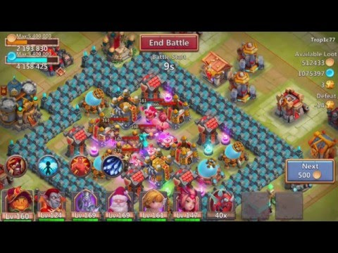 Castle Clash Best Spells To Use