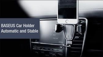 Trên tay giá kê điện thoại Gravity chính hãng Baseus có thiết kế tiện dụng