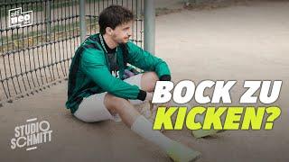 Wer will mit Tommi Schmitt Fußball spielen? | Studio Schmitt