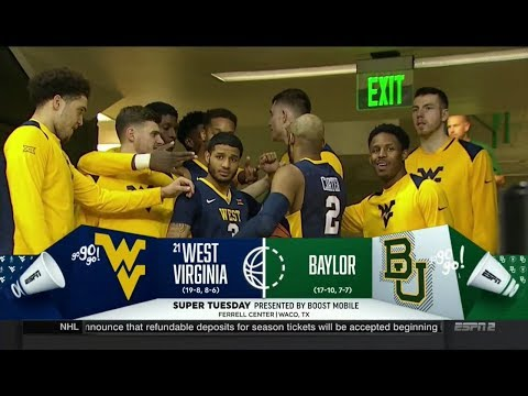 NCAAB 02 20 2018 West Virginia at Baylor 720p60