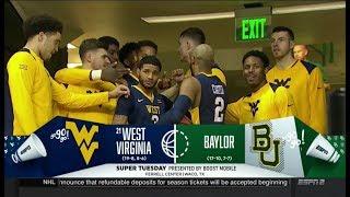 NCAAB 02 20 2018 West Virginia at Baylor 720p60