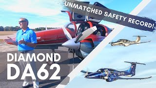 What Makes the DA62 tнe SAFEST Twin-Engine Aircraft?   DIAMOND AIRCRAFT SAFETY SPECS