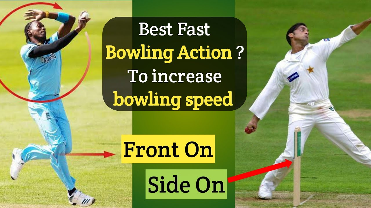 Best Fast Bowling Action To Increase Bowling Speed 🔥 ? side on vs front on vs semi open