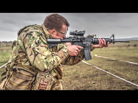 British Royal Marines Train With U.S. Marines