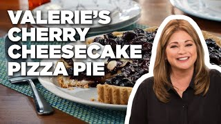Valerie's Cherry Cheesecake Pizza Pie | Food Network