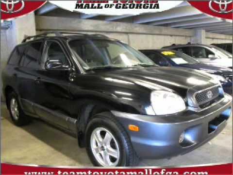 2003 Hyundai Santa Fe In Buford, GA