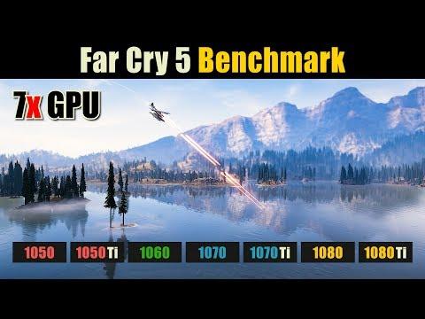 Far Cry 5 GTX 1050 vs. 1050 Ti vs. 1060 vs. 1070 vs. 1070 Ti vs. 1080 vs. 1080 Ti