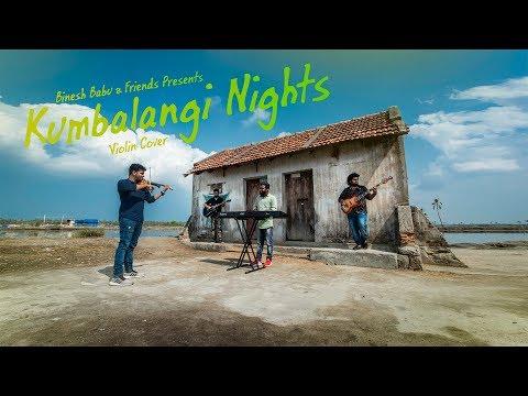 Kumbalangi Nights Violin Cover | Cherathukal | ചെരാതുകൾ |  Binesh Babu & Friends