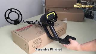 A Video for MD-4060 metal detector, Assembling, Adjusting & Air Test