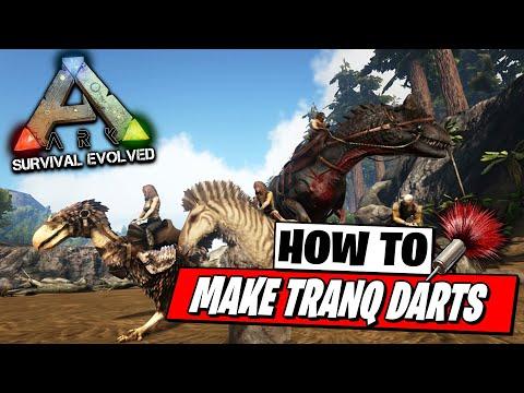 How To Make Tranq Darts - Ark Survival Evolved