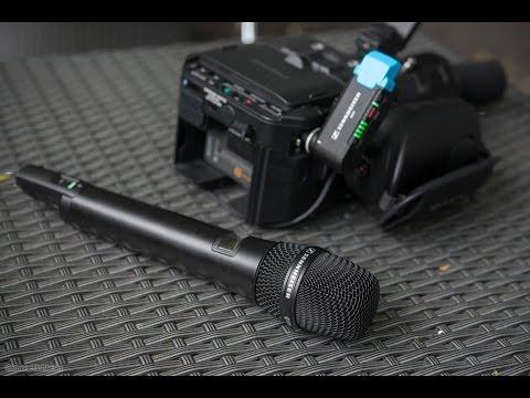 Trên tay microphone không dây Sennheiser AVX