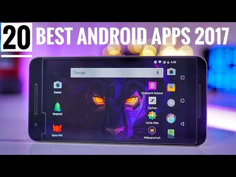 TOP 20 BEST ANDROID APPS 2017 | MUST HAVE