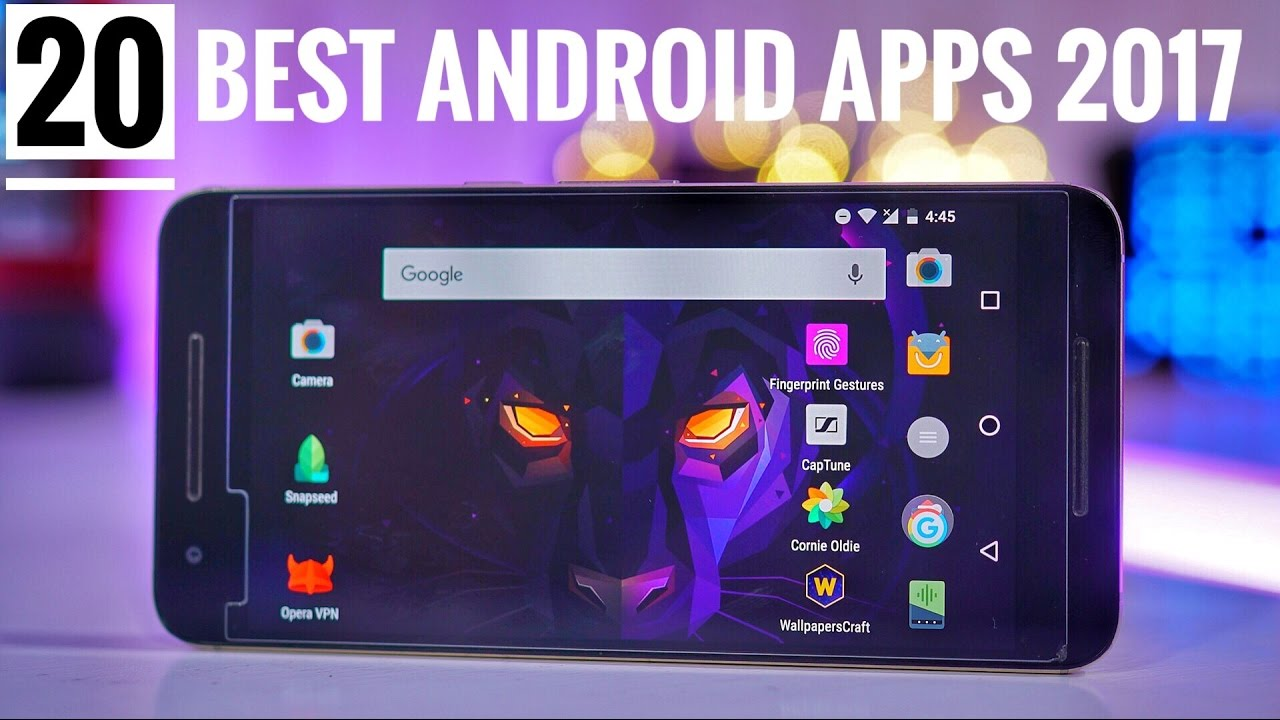 top 20 best android apps 2017 must have youtube
