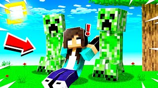 noob Girl was TAKEN by CREEPERS in Minecraft!