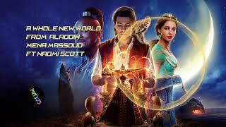 Mena Massoud, Naomi Scott - A Whole New World (From Aladdin) ♪ [NCS  Style]