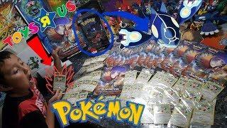 FREE POKEMON CARDS FOR YOU! TOYSRUS POKEMON PLAY & TRADE EVENT! FREE BURNING SHADOWS PROMO CARDS!!