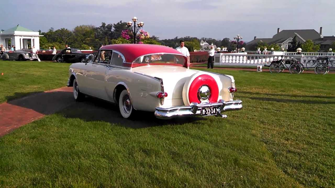 Hershey Car Show >> Elegance at Hershey 2013 Packard Balboa X - YouTube