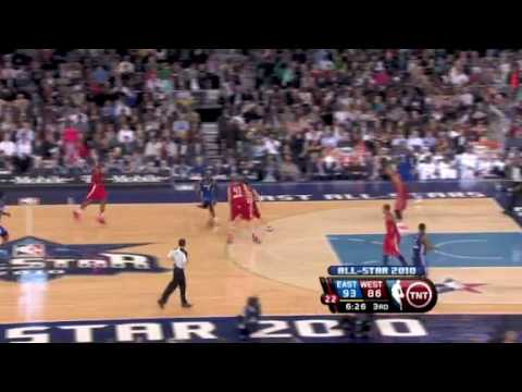 2010 NBA All-Star Game - NBA Videos and Highlights Record crowd sees East edge West in All-Star game