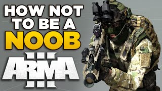 How not to be a Noob in ARMA 3 | FULL Beginners Guide with Luetin