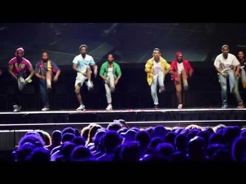 Iota Zeta Chapter of Kappa Kappa Psi Step Show Performance