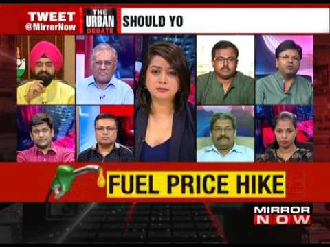 Petrol Prices hiked again – The Urban Debate (June 1)