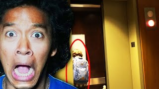 PLAYING THE ELEVATOR GAME in HAUNTED BUILDING - Episode 2 (HE GOT TRICKED!!)