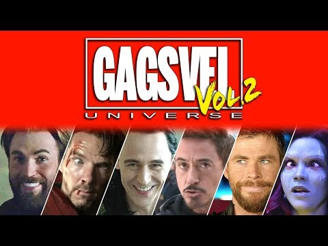 GAGSVEL Vol.2 | Marvel's Superhero Movie Bloopers Are Back!