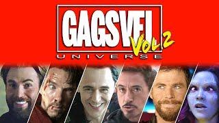 GAGSVEL Vol.2 | Marvel's Superhero Movie Bloopers Are Back!