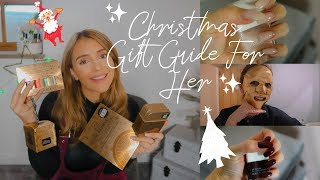 Christmas Gift Guide For Her With Nails Inc | Xmas Gifts | What To Buy Her?!