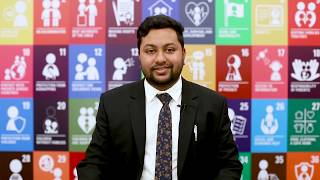 Sabir, 26, Bangladesh: standing up for children's right to quality education.