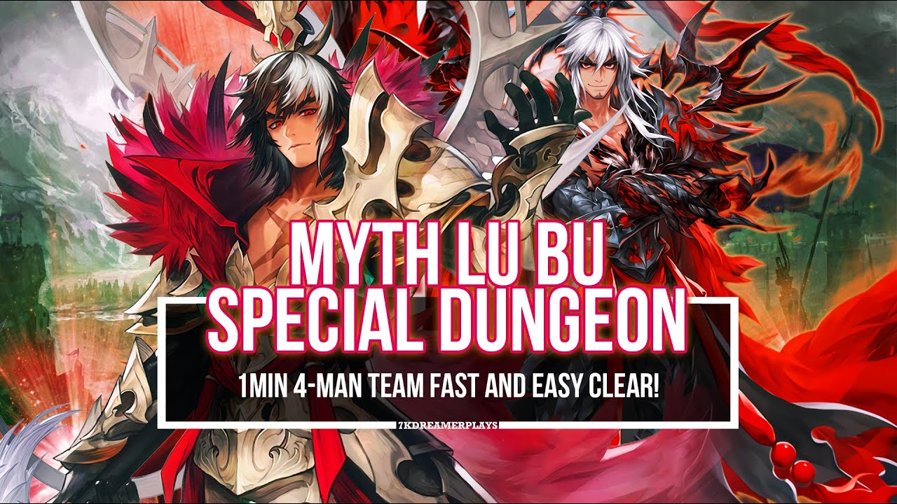 MYTH LUBU SPECIAL DUNGEON ~Get Special Accessories within a minute!~ | Seven Knights