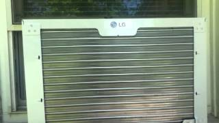 New LG 8000BTU Window A/C