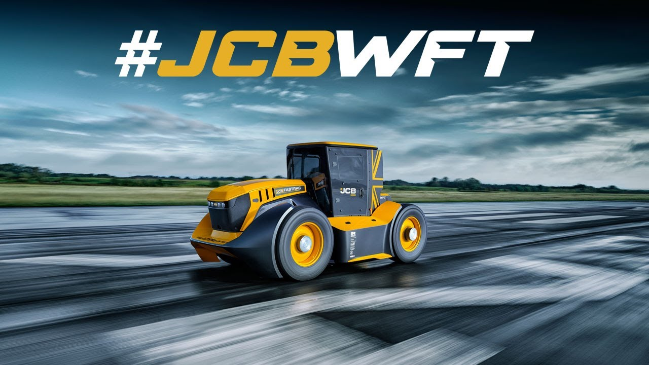#JCBWFT - The World's Fastest Tractor - Guy Martin's JCB Fastrac Guinness World Record Spe