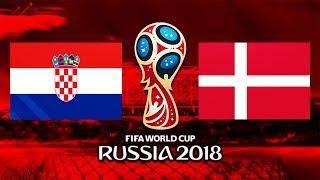 Croatia - Danemarca || Cupa Mondiala 2018