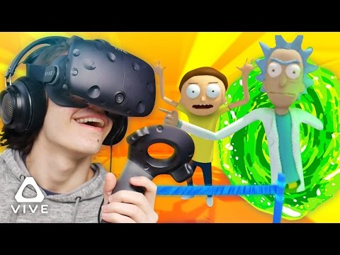 MORTY IS NOW A VEGAN!? 100% CANON. ❱ Rick and Morty VR Simulator (HTC Vive Virtual Rick-ality)