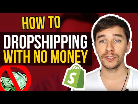 How To Start Dropshipping With No Money [2019] thumbnail