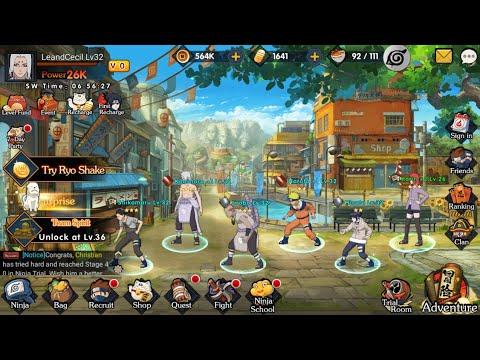 Game Naruto RPG (English) Android | Ultimate Ninja : Ninja King
